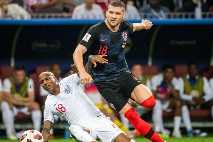 Ante Rebic (r.) ist einer der Erfolgsgaranten der kroatischen Nationalmannschaft.