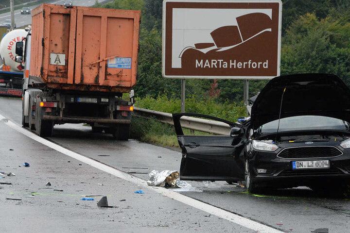 Die Autobahn war für rund 90 Minuten gesperrt.