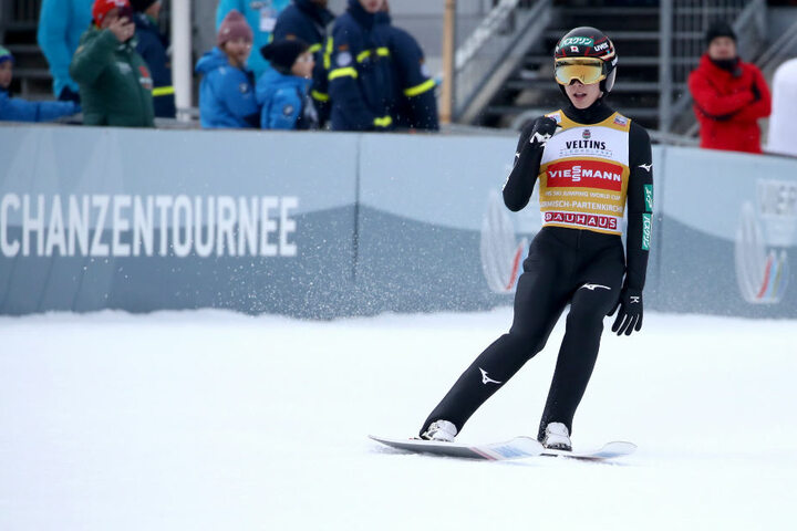 Ryoyu Kobayashi gewann das Neujahrsspringen.