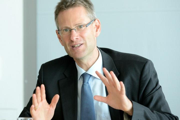 Wünscht sich die neue Linie 5: DVB-Vorstand Andreas Hemmersbach (48).