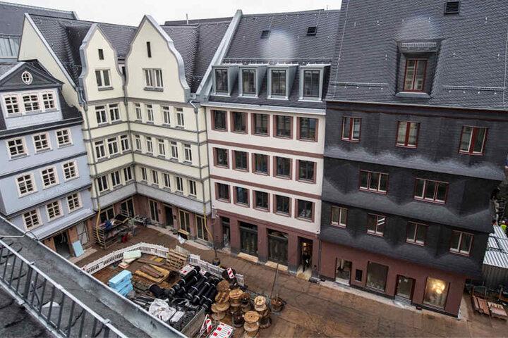 Die neue Altstadt soll eine Mischung aus Wohnraum, Geschäften, Cafés und Restaurants werden.