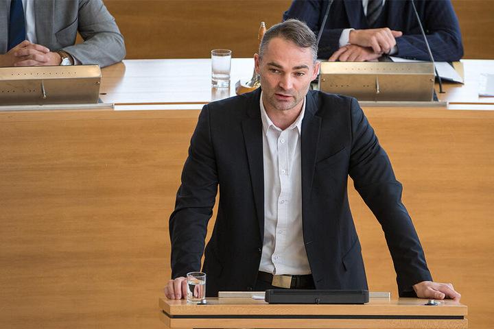 AfD-Kandidat Sebastian Wippel (36).