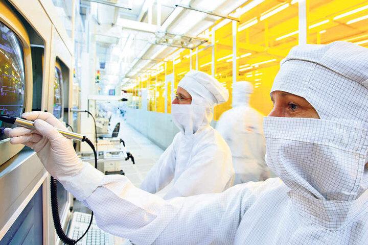 Chip-Riese Infineon ist bereits jetzt einer der größten Arbeitgeber Dresdens.