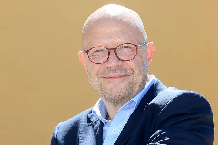 """Auch die CVAG um Sprecher Stefan Tschök (61) bewertet den Betrieb der Linie 3 als """"außerordentlich positiv""""."""