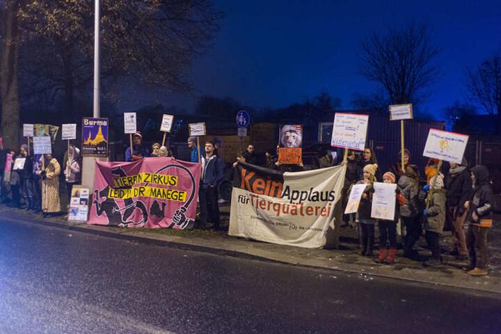 Der Weihnachts-Circus sorgt jedes Jahr für Proteste von Tierschützern.