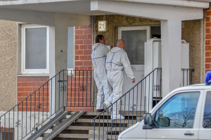 In der Wohnung eines Mehrfamilienhauses in Halle wurde am Sonntag, den 10. März, die Leiche der 26-Jährigen gefunden.