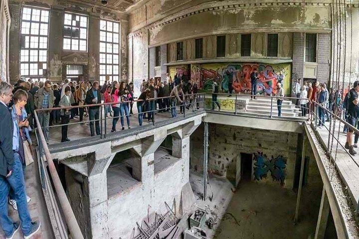 Hier in der Maschinenhalle der ehemaligen Wanderer-Fabrik könnten Veranstaltungen und Konzerte stattfinden.