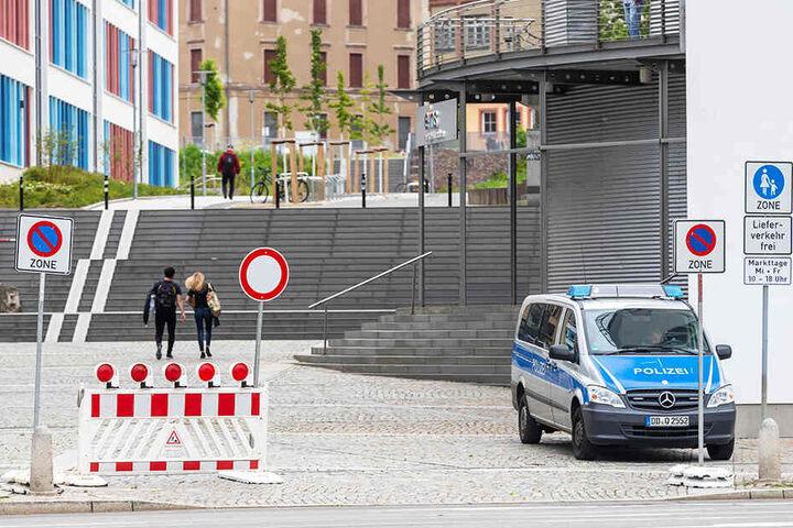 Tausende Demonstranten werden heute in Chemnitz erwartet. Die Polizei bereitet sich auf einen Großeinsatz vor. Mehrere Straßen werden gesperrt.