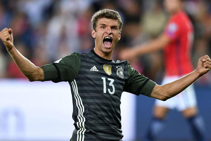Thomas Müller hat seinen Torriecher gegen Norwegen wiedergefunden.