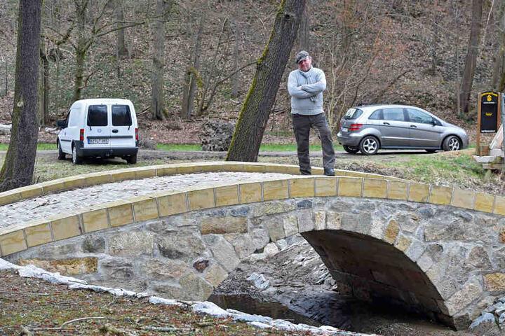 Der Brückenirrsinn vom Hüttertal sorgte bereits für viele Schlagzeilen.