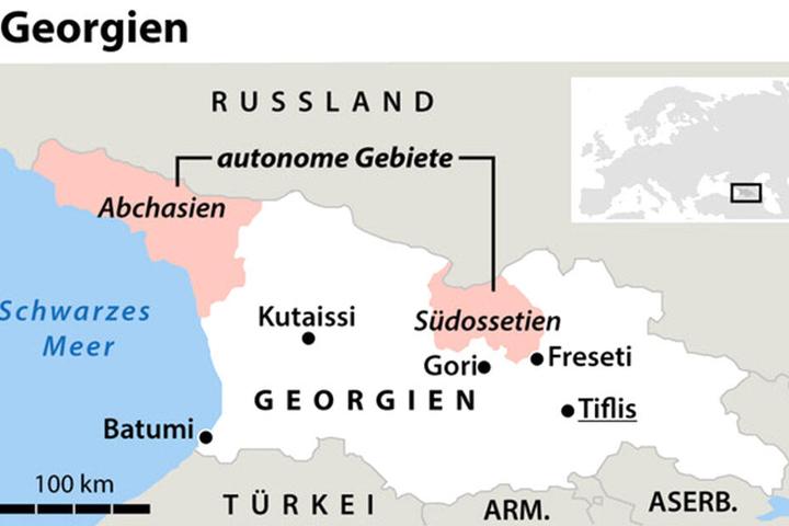 Die ehemalige Sowjetrepublik Georgien gilt als Schnittstelle zwischen Europa und Asien.
