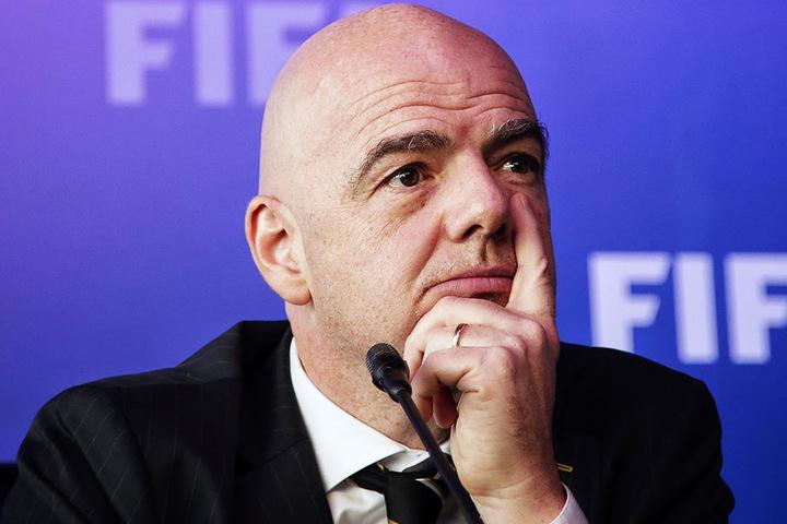 Für ihn soll der Fußball Brücken bauen und eingeschlafene politische Beziehungen wieder aufleben lassen: FIFA-Präsident Gianni Infantino.