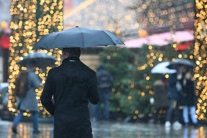 An Heiligabend den Schirm nicht vergessen!