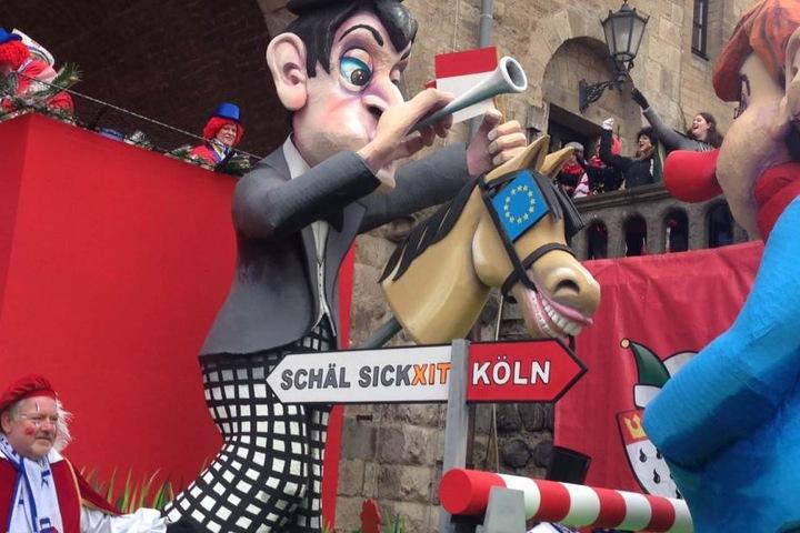 Im Kölner Karneval wird alles auf links gedreht.