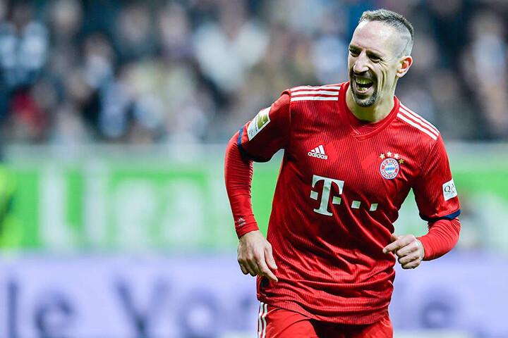 Am 17. Spieltag der vergangenen Saison erzielte Ribery das 2:0 für die Bayern in der Frankfurter Commerzbank Arena. Auch Frankfurt wurde einige Zeit als möglicher neuer Arbeitgeber des Franzosen gehandelt.