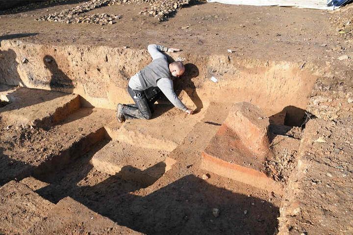 Der gefundene Tempelbezirk soll aus dem 2. und 3. Jahrhundert stammen.