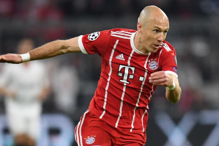 Arjen Robben läuft auch in dieser Saison erneut für den FC Bayern München auf.