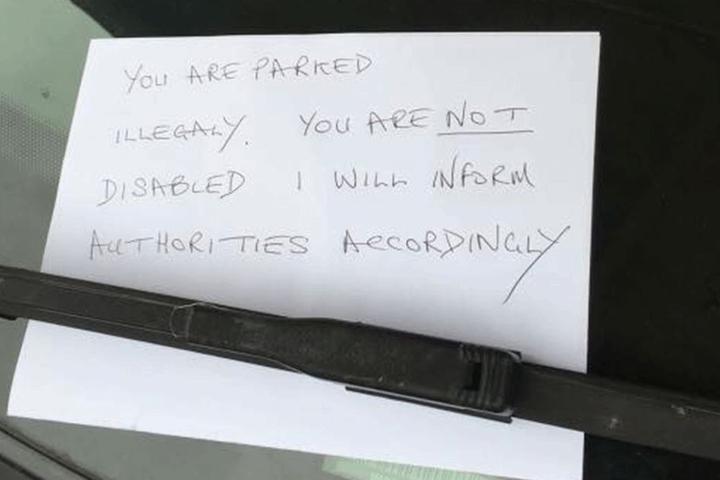 Der Zettel entstand unter einer falschen Annahme.