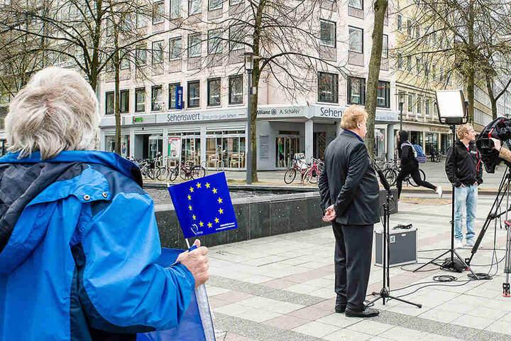 Elmar Brok sprach über den Brexit Großbritanniens.