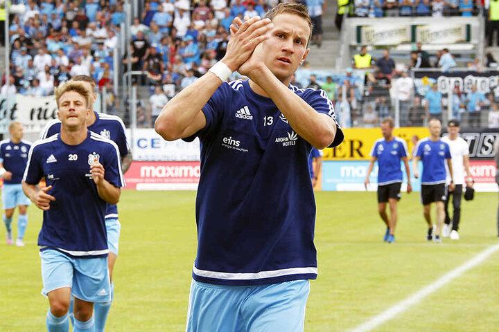 Tim Danneberg machte für keinen Verein mehr Spiele, als für den Chemnitzer FC.