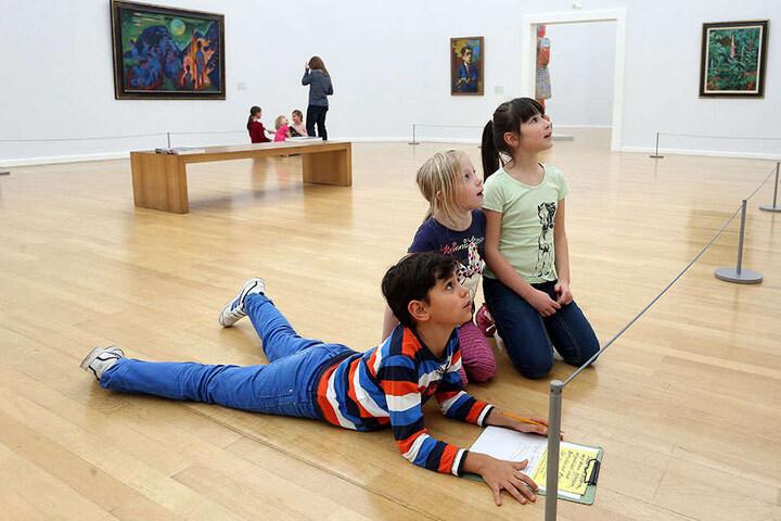 In den Kunstsammlungen haben Kinder und Jugendliche seit 2011 freien Eintritt. Weitere Museen folgen.