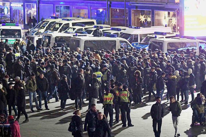 2500 Personen wurden in der Silvesternacht kontrolliert.