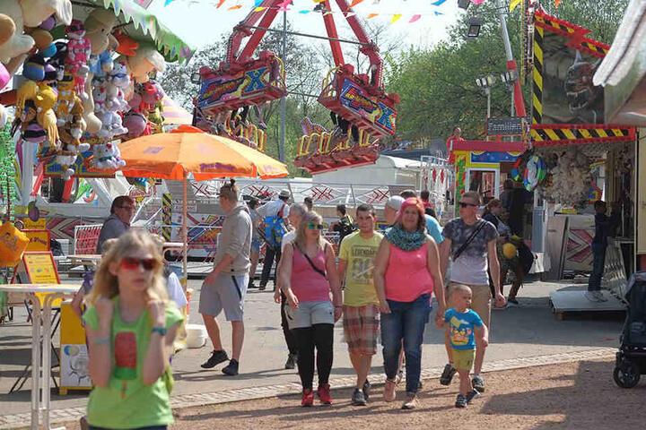 Für Familien gibt es in diesem Jahr auf dem Volksfest mehr Angebote.