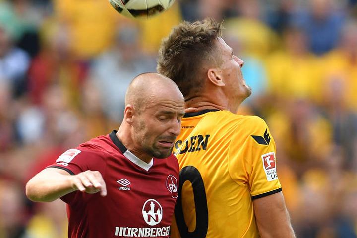 Im Hinspiel übersprang Kurschke seinen Ex-Kollegen Miso Brecko.