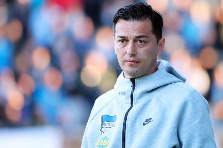 Hertha-Trainer Ante Covic.