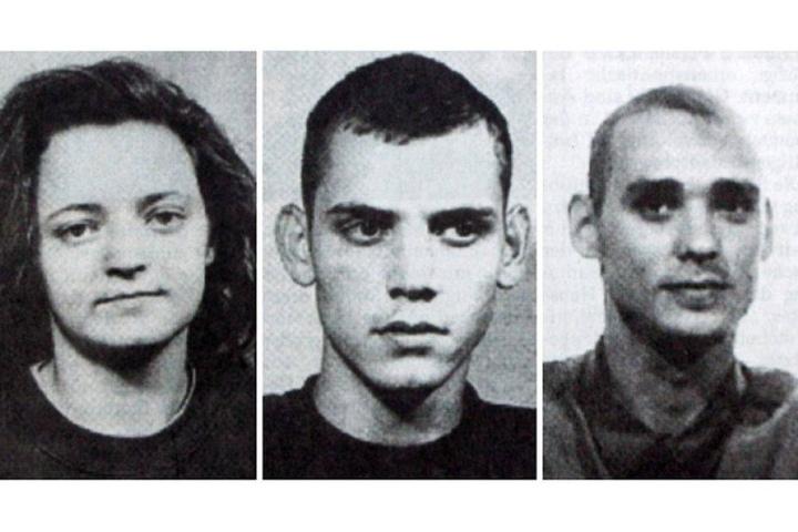 Die mutmaßlichen NSU-Terroristen Beate Zschäpe, Uwe Bönhardt und Uwe Mundlos.