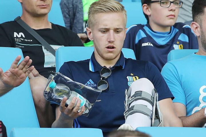 Eine Knieverletzung stoppte Alexander Dartsch im April.