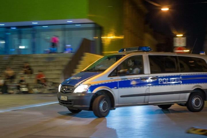 Als die Polizei eintraf, war das Mädchen schon verschwunden.