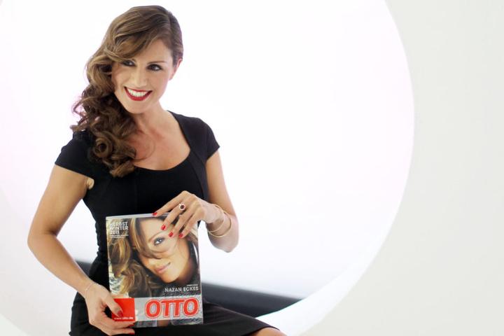 Moderatorin Nazan Eckes war auf dem Otto-Katalog Herbst/Winter 2011 als Titelfoto zu sehen (Archivbild).