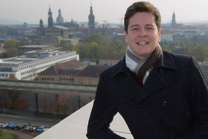 Der fotografierende Pilot Felix Gottwald (31) aus Dresden.