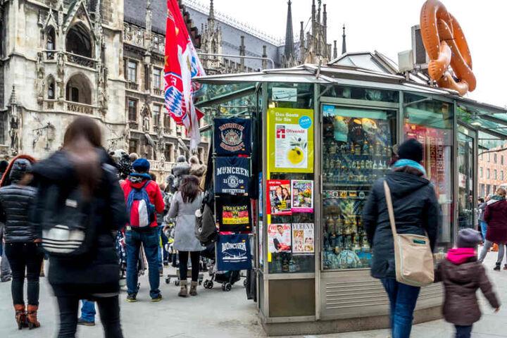 Die Souvenirläden in der Innenstadt Münchens sorgen weiter für teilweise hitzige Diskussionen.
