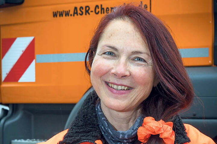 Der ASR hat 6450 Tonnen Streusalz eingebunkert, so Sprecherin Beate Bodnár (53).