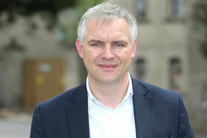 Sieht seine Stadt verunglimpft: Wurzens OB Jörg Röglin (47, parteilos).