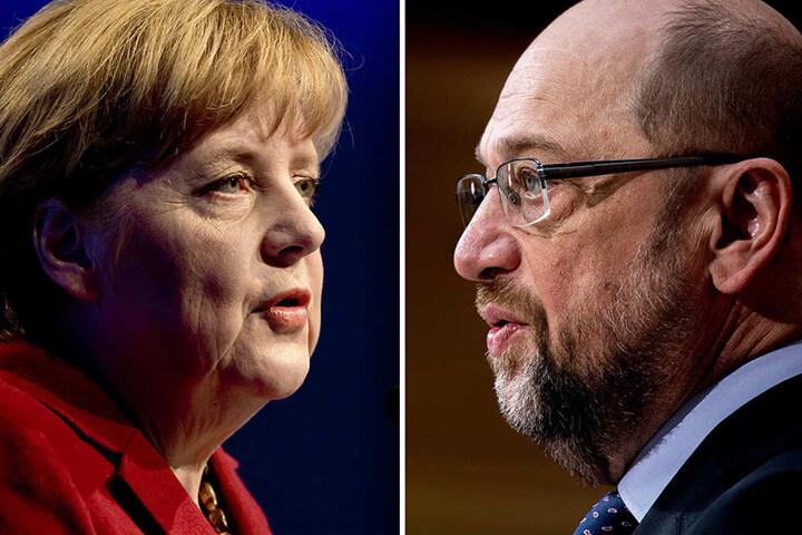 Schulz gegen Merkel - Hat der Herausforderer noch Chancen?
