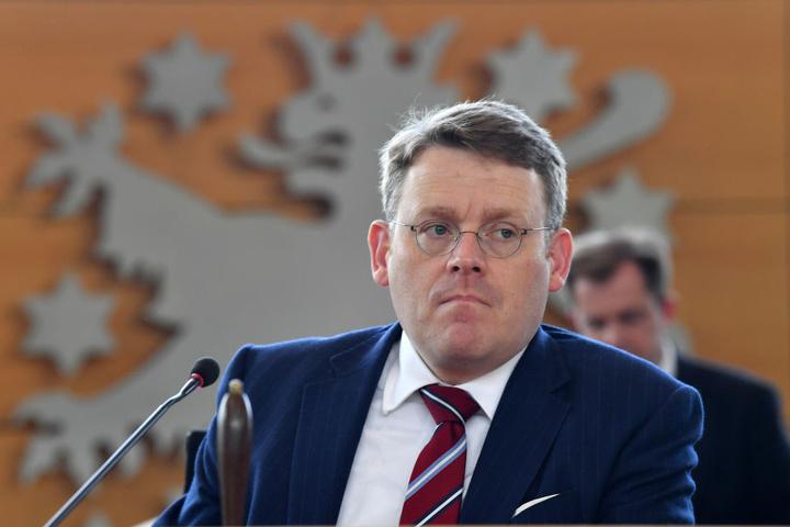 Christian Carius hatte sein Amt Ende Oktober niedergelegt.