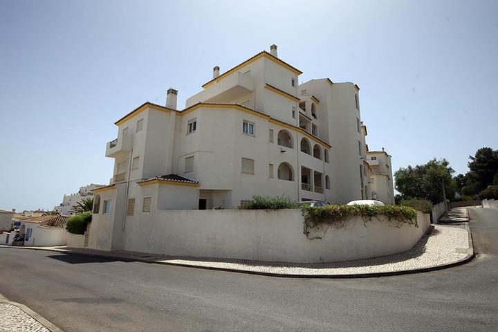 """Das Haus in Luz bei Lagos, aus dem Madeleine """"Maddie"""" McCann am 03. Mai 2007 verschwand. Bis heute ist der Fall nicht aufgeklärt."""