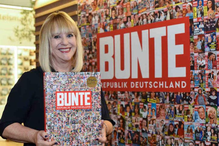 """Patricia Riekel war lange Zeit Chefredakteurin der Zeitschrift """"Bunte""""."""