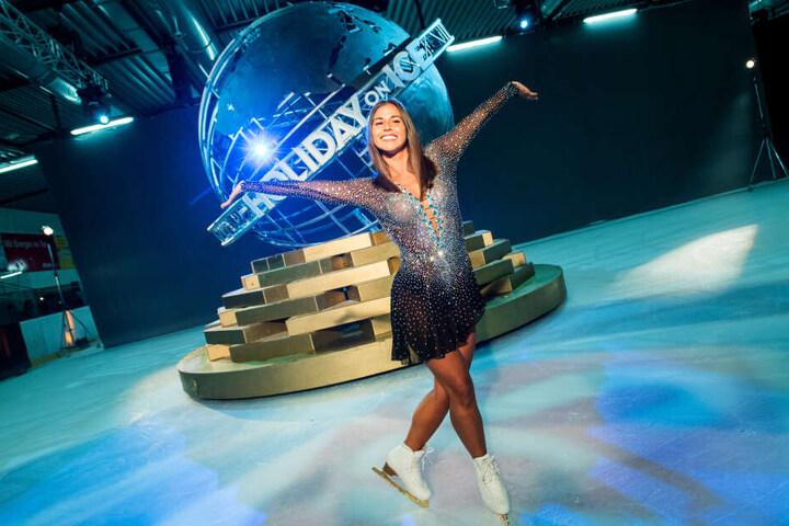 """Die 26-Jährige gewann zuletzt die Show """"Dancing on Ice""""."""