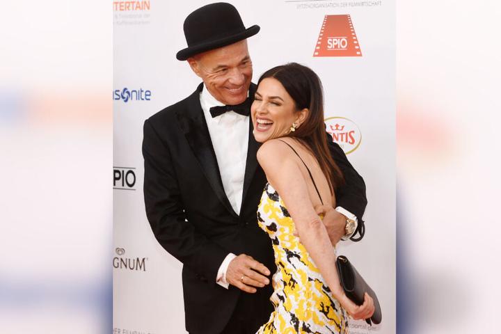 Schauspieler Heiner Lauterbach und seine Frau Viktoria hatten nur Flausen im Kopf.