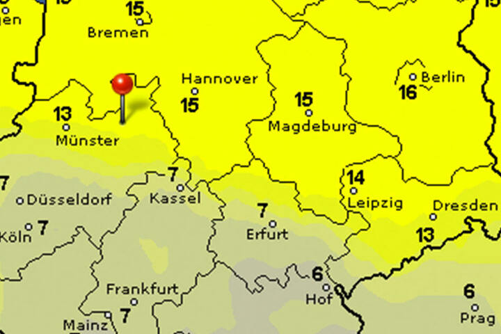 Viele Sonnenstunden bekommen die Ostwestfalen-Lipper in der kommenden Woche ab. Nur Berlin ist mit 16 Stunden unschlagbar.