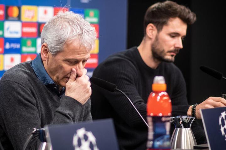Macht die Aufgabe gegen Prag nicht unbedingt leichter für Trainer Lucien Favre und Keeper Roman Bürki.