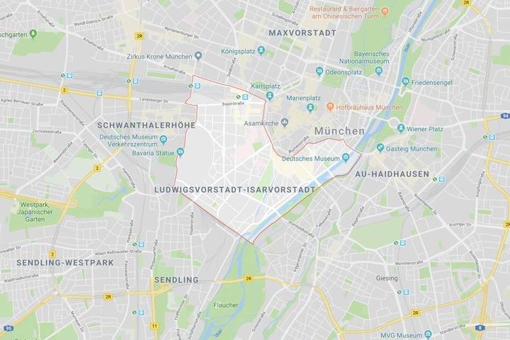 In München hat ein Angreifer in einem Geschäft mit einem Messer auf sein Opfer eingestochen.
