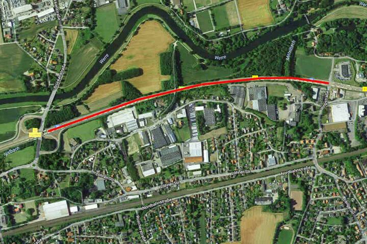 Auf der Strecke zwischen der Abfahrt Gohfeld bis zur Ringstraße kommt der Verkehr regelmäßig zum Stillstand.