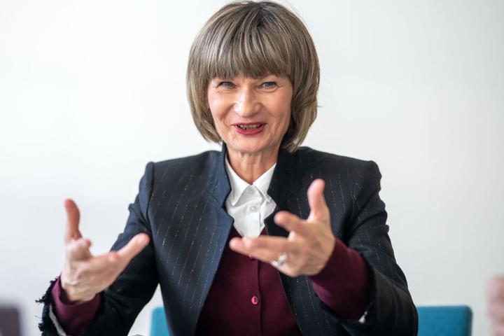 Ob Barbara Ludwig setzt sich für mehr Bürgerbeteiligung in Chemnitz ein.