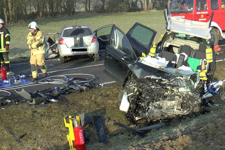 Eine 60-Jährige wurde schwer verletzt mit einem Rettungshubschrauber in ein Krankenhaus geflogen.