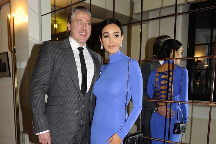 Mit ihrem Mann Franjo besuchte sie am Wochenende den Sportpresseball.